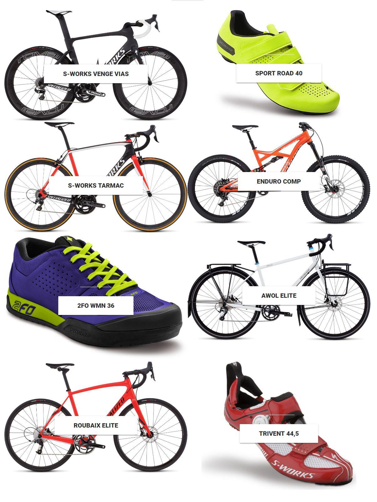 BikeStore74 kiemelt termékek Forrás: bikestore74.hu