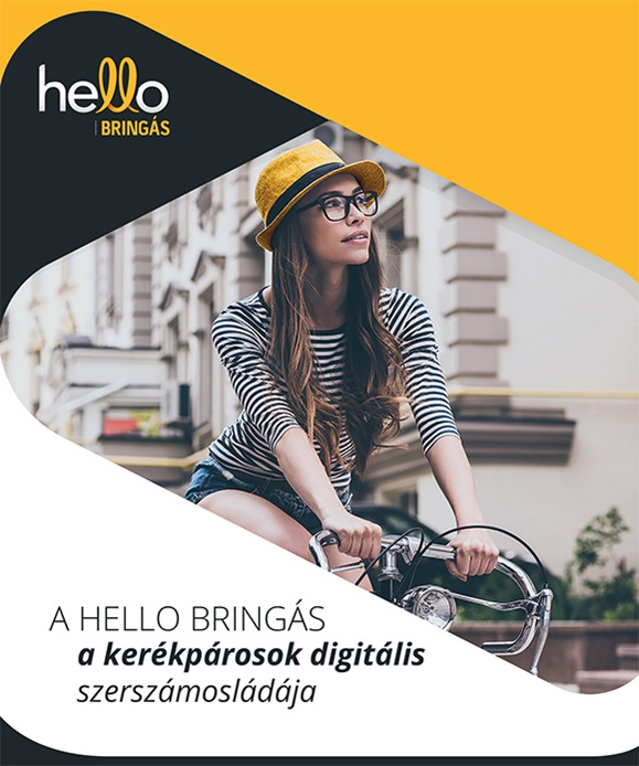 helloBringás app Forrás: (c) helloBringás