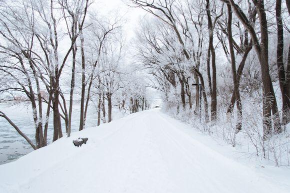 Nagyon téli futóútvonal Forrás: Ali Inay