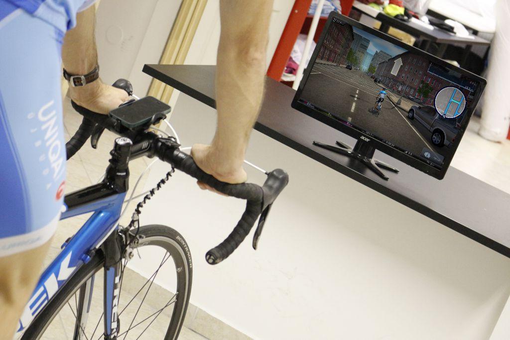 Virtuális valóság PC szoftverrel Forrás: Mozgásvilág.hu