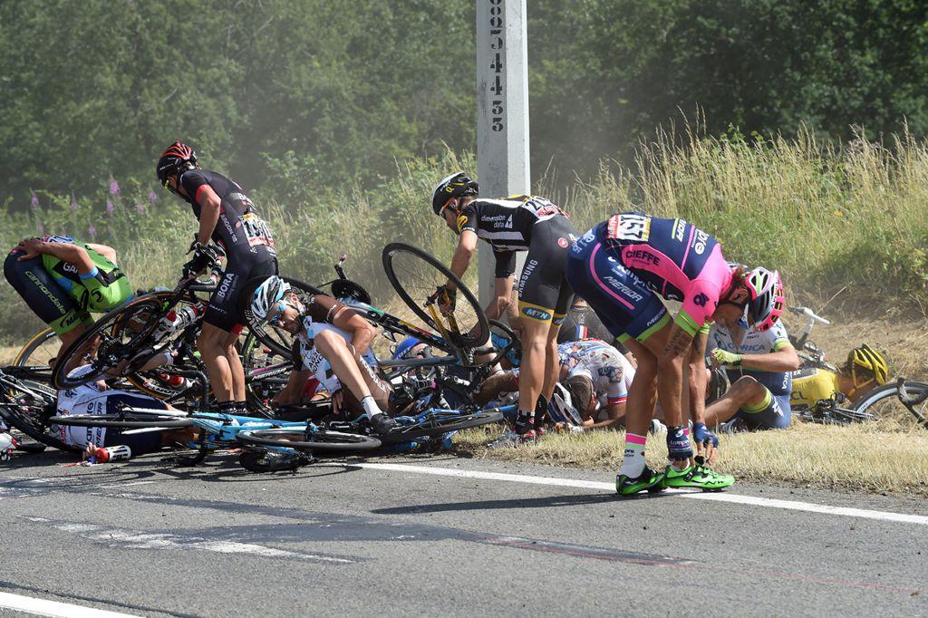 Bukás Forrás: BikeFun.hu