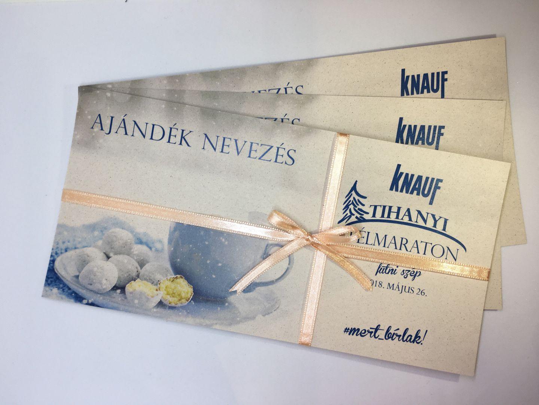 Tihanyi Félmaraton ajándék nevezés Forrás: Futniszép.hu