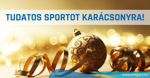 Tudatos sportot karácsonyra!
