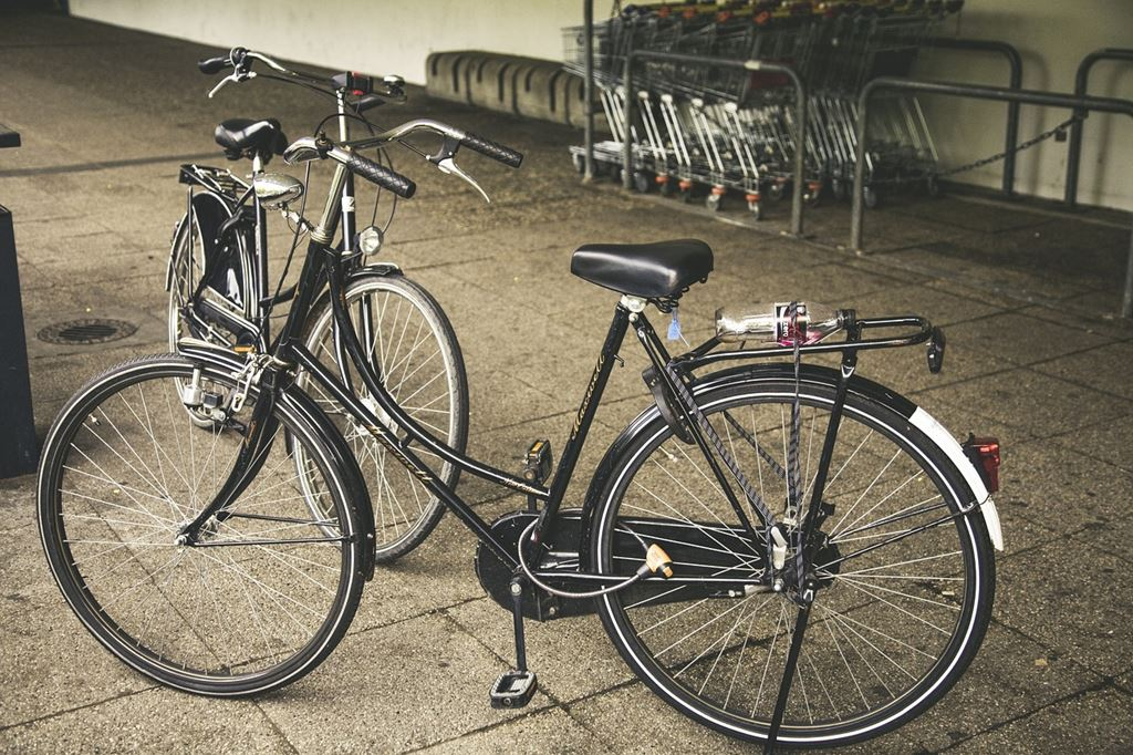 Városi kerékpárok Forrás: www.pixabay.com