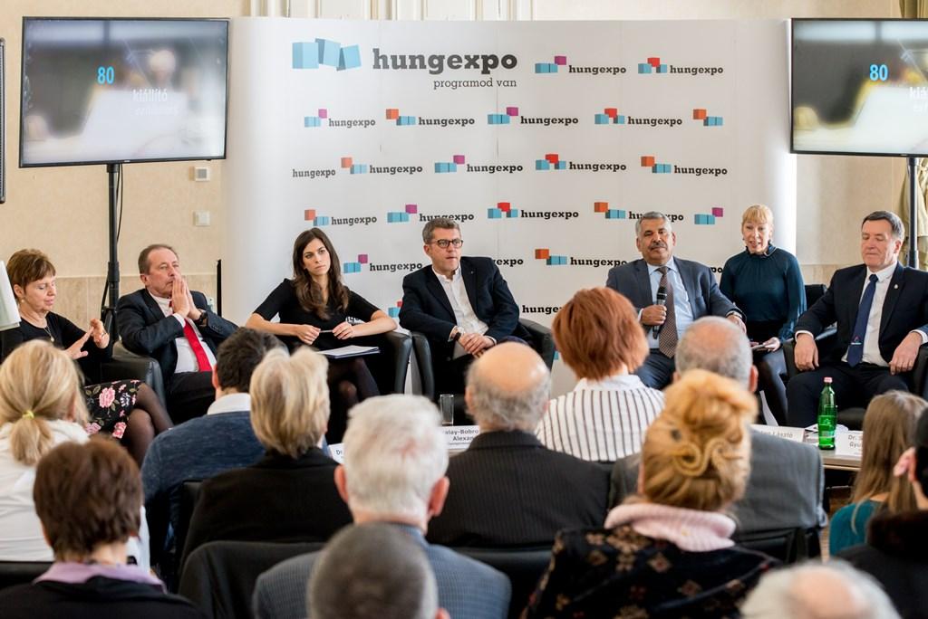 Utazás Kiállítás sajtóbeszélgetés Forrás: HUNGEXPO Vásár és Reklám Zrt.