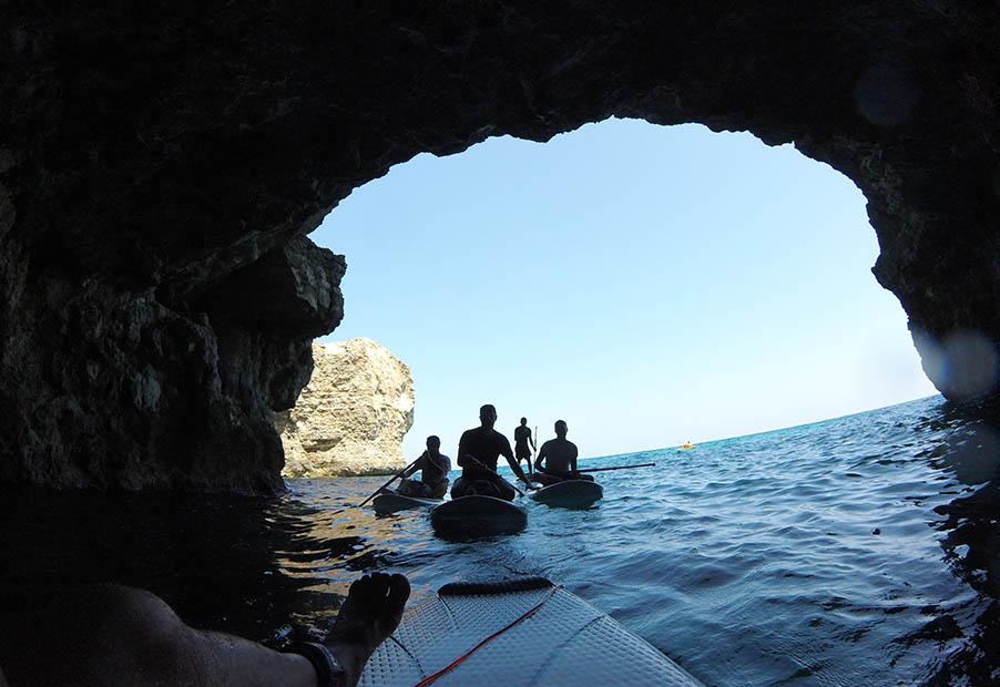 SUP kalandok Máltán Forrás: www.surfingmalta.com