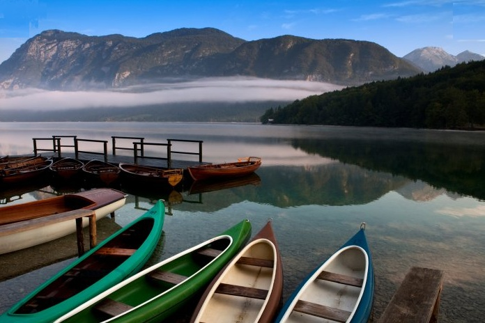 A Bohinji tó. Forrás: www.bohinj-park-hotel.si