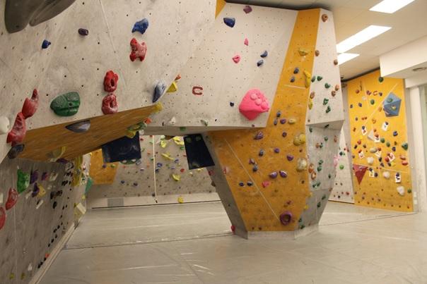 Boulder terem Forrás: Ibex Sport Falmászóterem