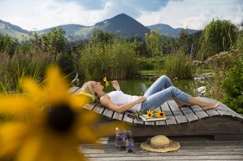 Wellness a kertben Forrás: (c) Oststeiermark Tourismus, Bernhard Bergmann