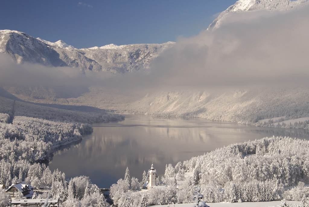 Bohinji-tó Forrás: Turisticno društvo Bohinj