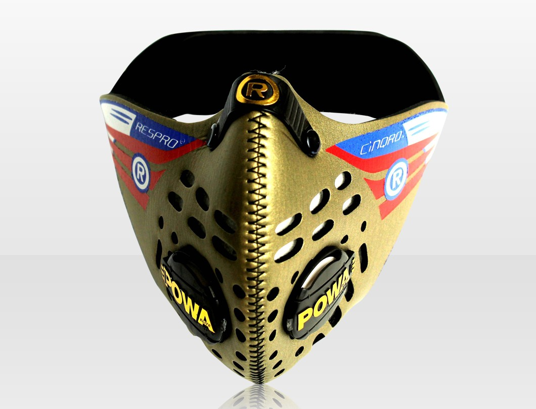 Cinqro maszk gold Forrás: Velvart Kerékpár Üzlet