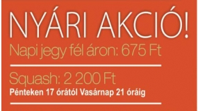 Griff Squash & Fitness | www.mozgasvilag.hu