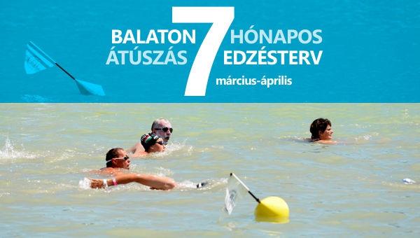 Balaton átúszás edzésterv II. (március-április)
