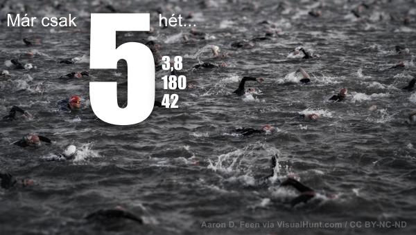 Triatlon Hosszú Táv edzésterv az utolsó 5 hétre