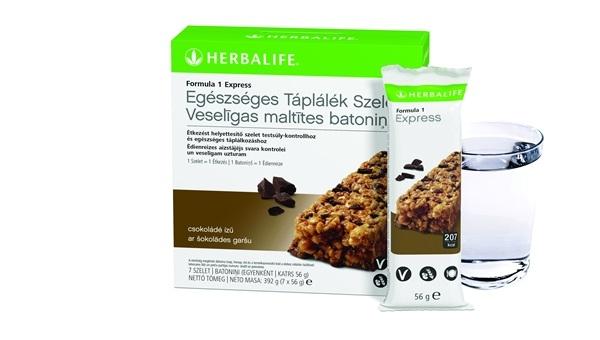 Herbalife Formula 1 Expressz Egészséges Táplálék szelet