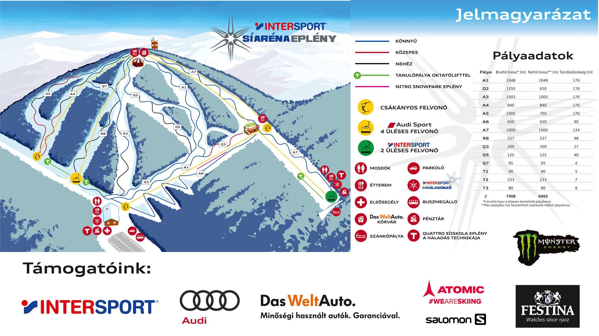 magyarország térkép eplény Intersport Síaréna   Eplény magyarország térkép eplény