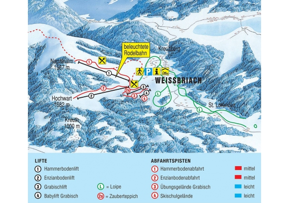 Gitschtal - Weißbriach