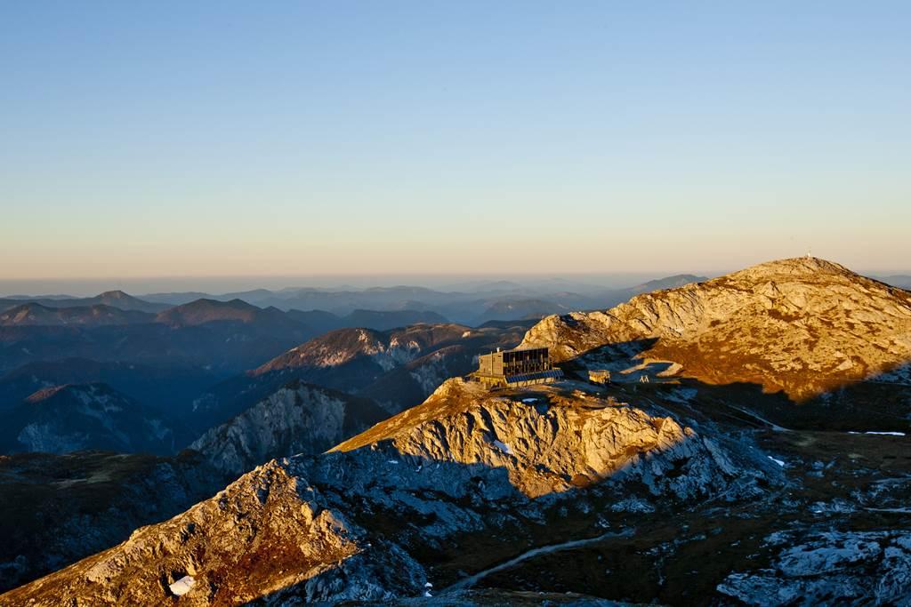 BergZeitReise túraútvonal Forrás: (c) ikarus.cc