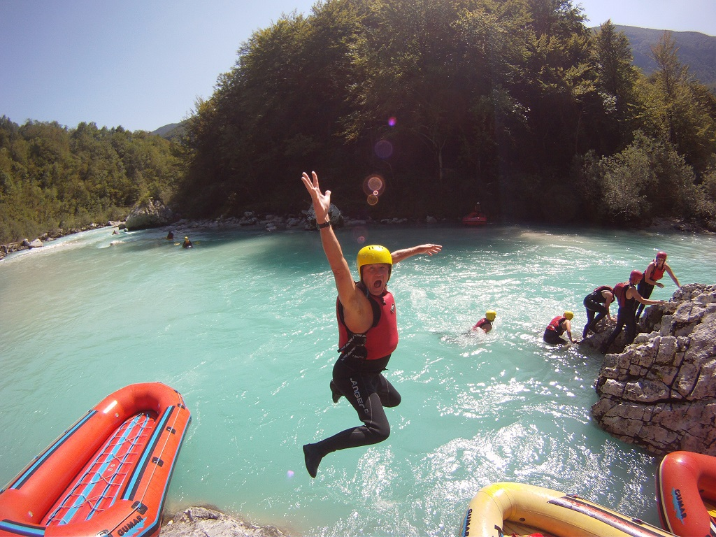 Rafting a Soča-n Forrás: SportMix Bovec