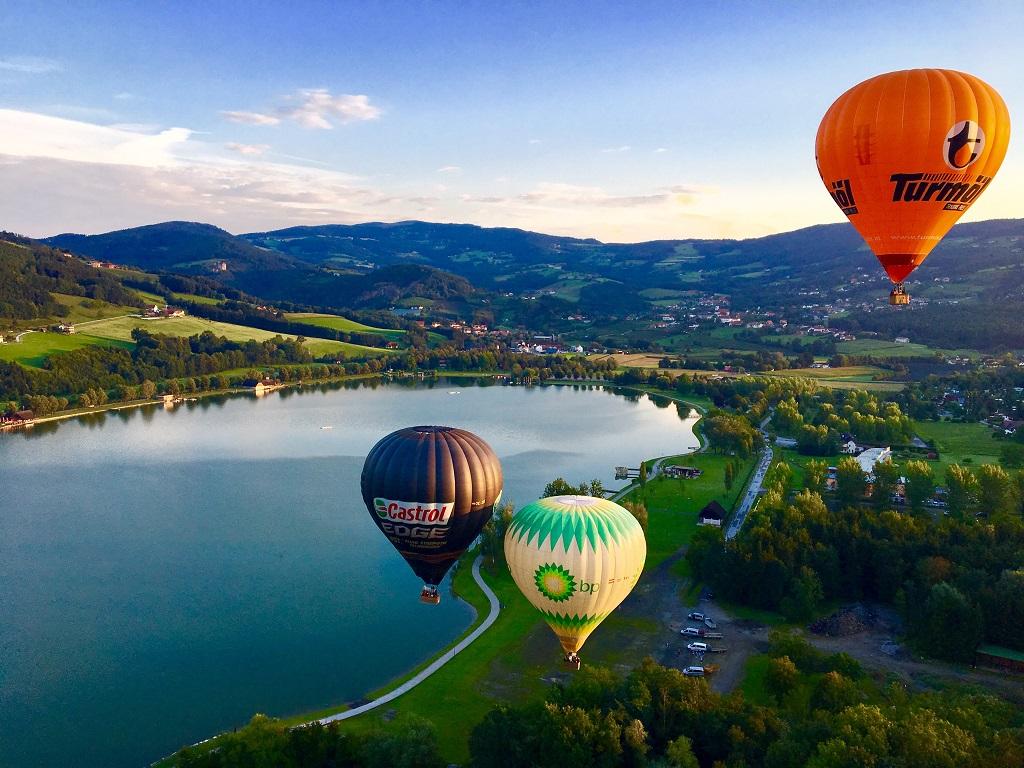 Hőlégballonozás Stubenbergben Forrás: (c) Apfelwirt Flaggl, Andreas Flaggl