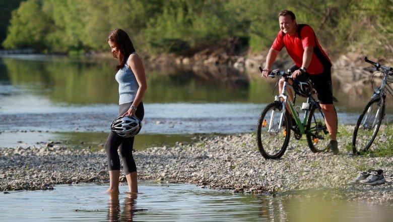 Bringás pihenő a Traisen folyó partján Forrás: (c) weinfranz.at