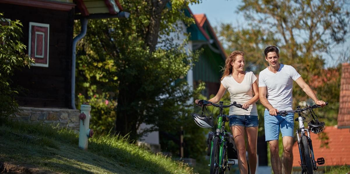 Egyirányú kerékpártúrák Forrás: www.burgenland.info