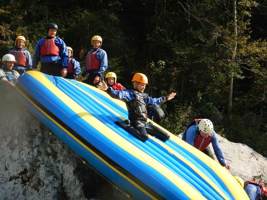 Rafting a Socán Forrás: Sport in turizem