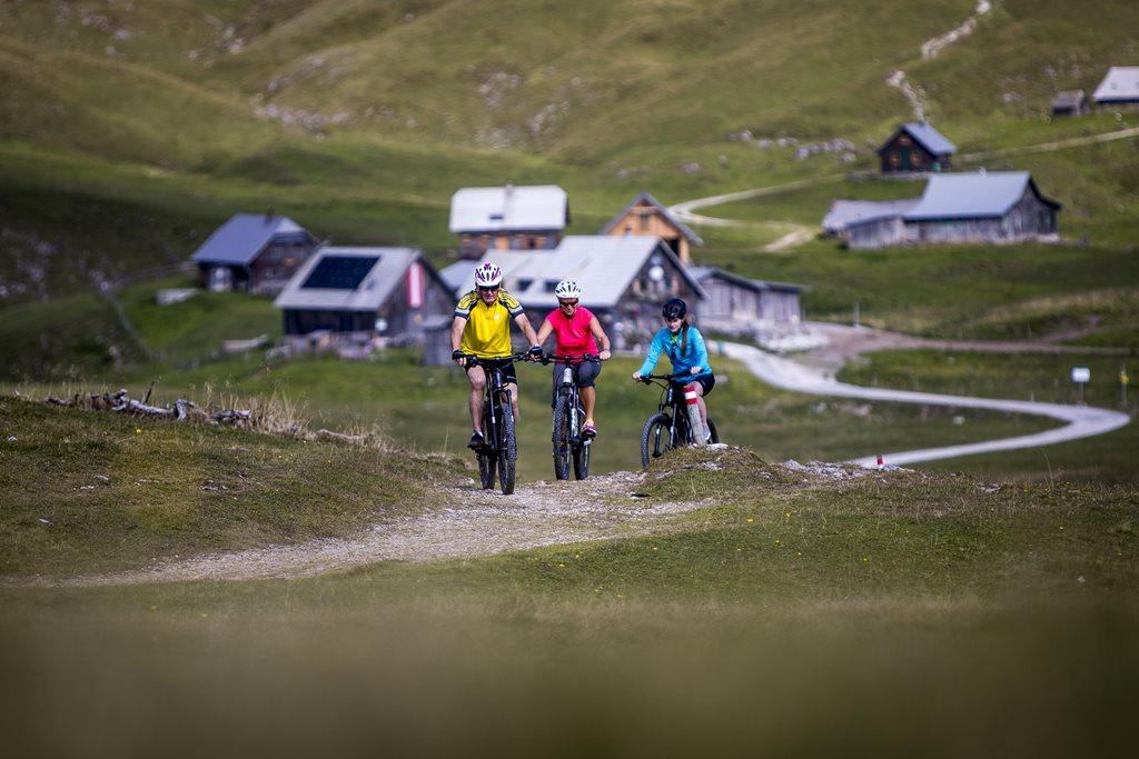 E-bike-al a Schneealmon Forrás: (c) Tom Lamm