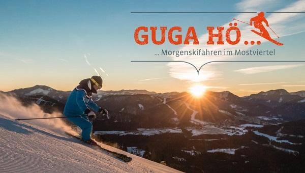 Guga hö reggeli síelés Mostviertelben Forrás: (c) Mostviertel Tourismus - Fred Lindmoser