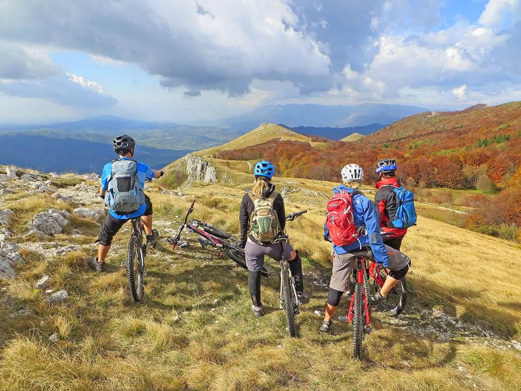Mountainbike túra Forrás: Sport in turizem