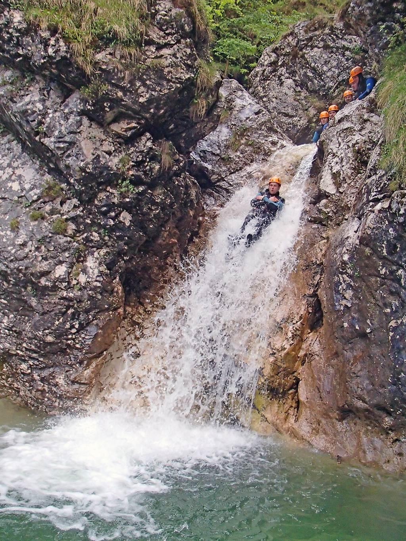 Canyoning Forrás: Ölschléger Beatrix