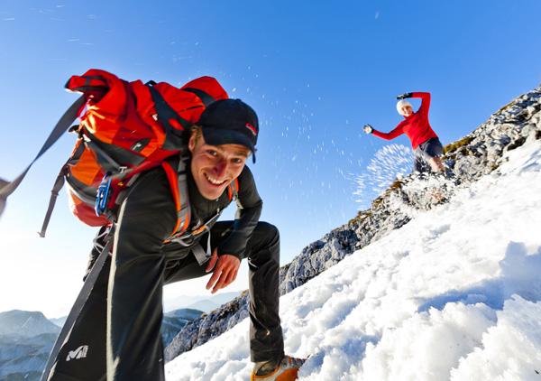 Hótalpazás a Hochschwabon Forrás: Steiermark Tourismus (c) Tom Lamm