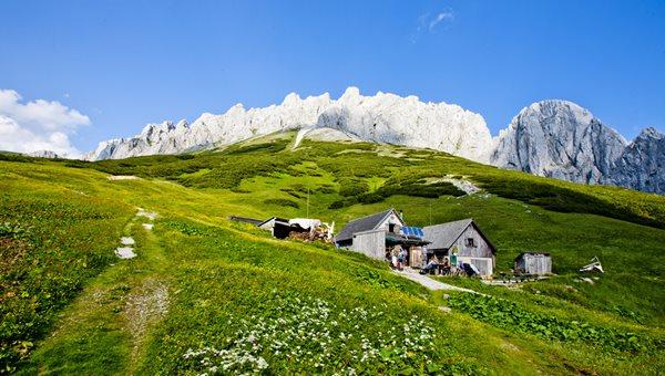 Herzerhütte Fölzalm Forrás: Steiermark Tourismus © Tom Lamm.cc