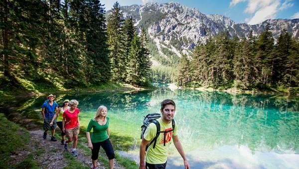 Zöld-tó Forrás: www.hochsteiermark.at (c) Tomm Lamm