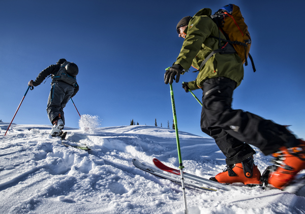 Túrasí oktatás Forrás: (c) Skischule Alpfox