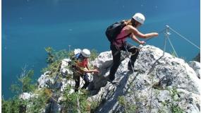 Via Ferrata a Garda tónál | www.mozgasvilag.hu