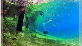 3/4 nap búvárprogram a Grübl tóban és a