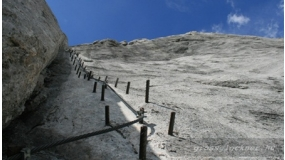 Dachstein (2995 m) superferrata E | www.mozgasvilag.hu