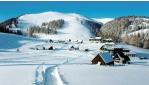 Nyomok a hóban a Hochschwabon