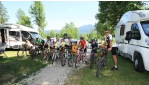 Kerékpártúra a Júliai Alpokban