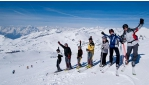 Síelés a Mölltali gleccseren