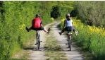 E-bike-kal a Traisental-kerékpárúton