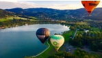 Hőlégballonozás az Almarégió felett