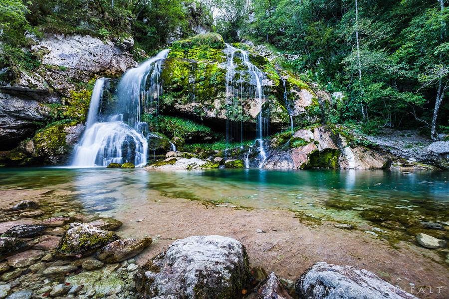 Lélegzetelállító vízesések Forrás: Sport in turizem