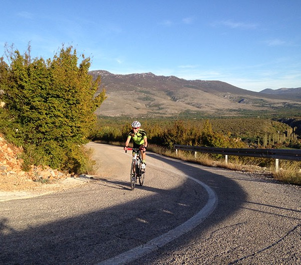 Országúti kerékpártúrák Forrás: (c) rennradreisen.cc