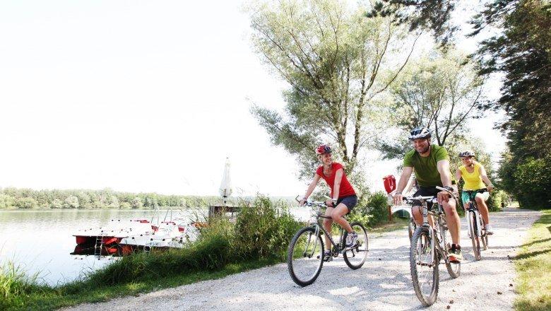 Úton a Traisental kerékpárúton Forrás: (c) schwarz-koenig.at